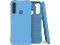 Husa TPU OEM Soft Color pentru Xiaomi Redmi Note 8T, Albastra, Bulk