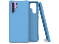Husa TPU OEM Soft Color pentru Huawei P30 Pro, Albastra, Bulk