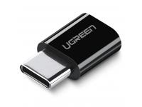 Adaptor conversie MicroUSB la USB Tip-C UGREEN, Negru, Bulk