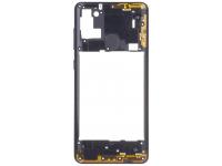 Rama Mijloc Samsung Galaxy A21s, Negru