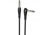 Adaptor Audio 3.5 mm la 3.5 mm HOCO UPA14, 2 m, Negru, Blister