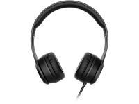 Casti On-Ear Baseus W21 Graceful, Cu microfon, 3.5 mm, Negru, Blister