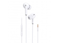 Handsfree Casti In-Ear Dudao X14, Cu microfon, 3.5 mm, Alb, Blister