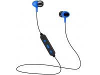 Handsfree Casti Bluetooth Setty Sport, SinglePoint, Albastru, Blister