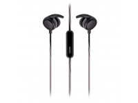 Handsfree Casti In-Ear Setty, Sport, Cu microfon, 3.5 mm, Negru, Blister