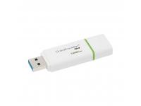 Memorie Externa Kingston G4, 128Gb, USB 3.0, Alba-Verde, Blister DTIG4/128GB
