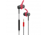 Handsfree Casti In-Ear Bluetooth Forever 4Sport SP-100, Rosu Blister