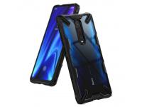 Husa TPU Ringke Fusion X pentru Xiaomi Mi 9T / Xiaomi Mi 9T Pro, Neagra, Blister FXXI0003