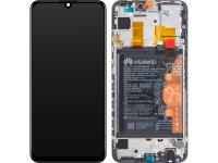 Display - Touchscreen Huawei P Smart (2019), Cu Rama, Acumulator si piese, Negru 02352JEY