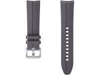 Curea ceas pentru Samsung Galaxy Watch Active / Galaxy Watch Active2 / Galaxy Watch3 41mm / Galaxy Watch 42mm / Gear Sport, Ridge Sport, Silicon, 20 mm, Gri, Blister ET-SFR85SJEGEU