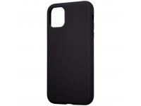 Husa TPU Tactical Velvet Smoothie pentru Apple iPhone 11 Pro Max, Asphalt, Neagra, Blister