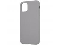 Husa TPU Tactical Velvet Smoothie pentru Apple iPhone 11, Foggy, Gri, Blister