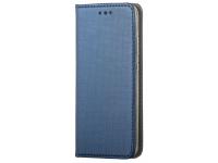 Husa Piele OEM Smart Magnet pentru Samsung Galaxy A01, Bleumarin
