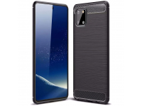 Husa TPU OEM Carbon pentru Samsung Galaxy Note 10 Lite N770, Neagra, Bulk