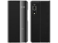 Husa Plastic - Poliuretan OEM New Sleep Case pentru Samsung Galaxy A71 A715, Neagra, Bulk