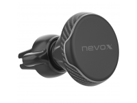 Suport Auto Universal Nevox pentru Telefon, NEVOCLIP - AIRMAGNET, Negru, Blister