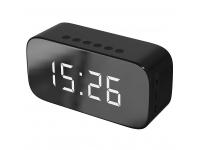 Boxa Bluetooth Setty Mirror, GB-200, cu Alarma ceas, Neagra, Blister