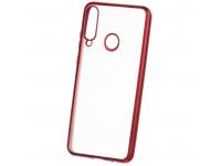Husa TPU Forcell NEW ELECTRO MATT pentru Apple iPhone 12 mini, Rosie