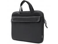 Geanta Laptop Baseus Basic Series Sleeve, 36.5 x 26 cm (Dimensiuni Interioare), Gri, Bulk LBJN-H0G