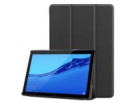 Husa Tableta TPU Tech-Protect SMARTCASE pentru Huawei MediaPad M5 lite 10, Neagra, Bulk