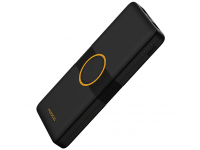 Baterie Externa Powerbank Proda PD-P29, 10000 mA, cu incarcare Wireless Qi, Neagra, Blister