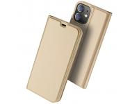 Husa Poliuretan DUX DUCIS Skin Pro pentru Apple iPhone 12 mini, Aurie