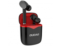 Handsfree Casti Bluetooth Dudao U12, MultiPoint, Negru Rosu, Blister