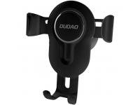 Suport Auto Universal Dudao F3, Gravity Air Vent, Negru, Blister
