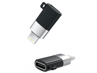 Adaptor Conversie USB Type-C la Lightning XO Design NB149-D, Negru, Blister