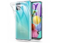 Husa TPU Tech-Protect FLEXAIR CRYSTAL Samsung Galaxy A51 5G A516, Transparenta, Blister