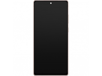 Display - Touchscreen Samsung Galaxy Note 20 N980, Cu Rama,  Bronz (Mystic Bronze) GH82-23495B
