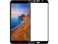 Folie Protectie Ecran OEM pentru Xiaomi Redmi 7A, 5D, Sticla securizata, Full Face, Full Glue Neagra, Blister