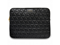 Husa Laptop Guess Quilted Sleeve pentru MacBook Pro / Air 13 inch, Neagra GUCS13QLBK