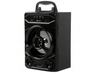 Boxa Portabila Bluetooth Kisonli KK-02, USB / MicroSD / AUX / BT, Neagra, Blister