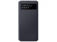 Husa Samsung Galaxy A42 5G, S View, Neagra EF-EA426PBEGEE