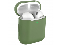 Husa Protectie Casti Tech-Protect Icon pentru Apple AirPods Gen 1 / Apple AirPods Gen 2, Verde, Blister
