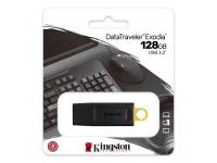 Memorie Externa Kingston DT Exodia, 128Gb, USB 3.2, Neagra Galbena, Blister DTX/128GB