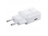 Incarcator Retea USB LG MCS-N04EP, 1 X USB Type-C, Alb