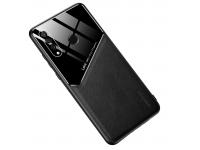 Husa Piele OEM All-inclusive pentru Huawei P30 lite, Neagra, Bulk
