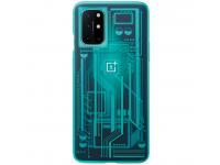 Husa Plastic OnePlus 8T, Quantum, Bleu, Blister 5431100178