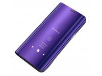 Husa Plastic OEM Clear View pentru Samsung Galaxy A41, Mov, Blister
