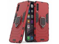 Husa Plastic - TPU OEM Ring Tough Armor Kickstand pentru Samsung Galaxy A50 A505 / Samsung Galaxy A30s A307 / Samsung Galaxy A50s A507, Rosie, Bulk