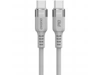 Cablu Date si Incarcare USB Type-C la USB Type-C Dudao LC5MAX, 1 m, 100W, PD, Gri, Blister
