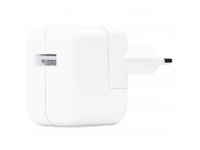Incarcator Retea USB Apple 12W, 1 X USB, Alb, Blister MGN03ZM/A