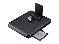 Dock Incarcare Pitaka Air Omni Lite, Multifunctional, 6in1, Wireless / USB Type-C / Lightning, Fibra Aramida, Negru A03001