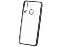 Husa TPU Forcell NEW ELECTRO pentru Samsung Galaxy A20s, Neagra, Bulk