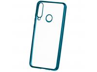 Husa TPU Forcell NEW ELECTRO MATT pentru Samsung Galaxy A21s, Verde, Bulk