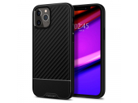 Husa TPU Spigen Core Armor pentru Apple iPhone 12 / Apple iPhone 12 Pro, Neagra, Blister ACS01515
