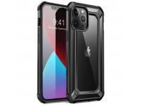 Husa Plastic - TPU Supcase EXO pentru Apple iPhone 12 Pro Max, Neagra, Blister