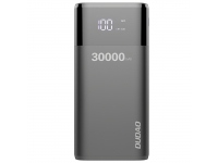 Baterie Externa Powerbank Dudao K8Max, 30000 mA, Standard Charge (5V), Display 4A, Neagra, Blister